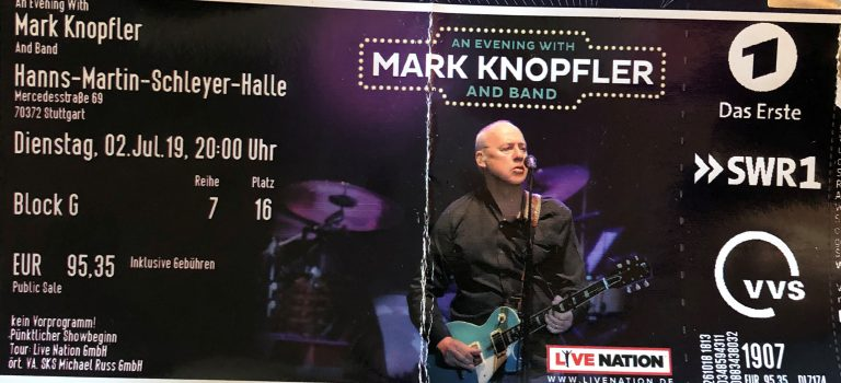 Mark Knopfler in concert